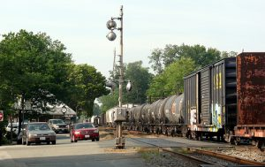 The chemical train goes through Ashland VA
